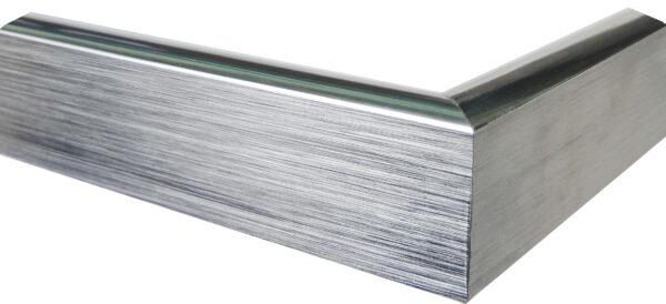 silber glänzender Rahmen